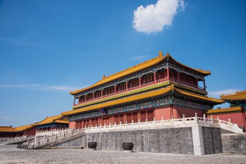 北京故宫风景图片