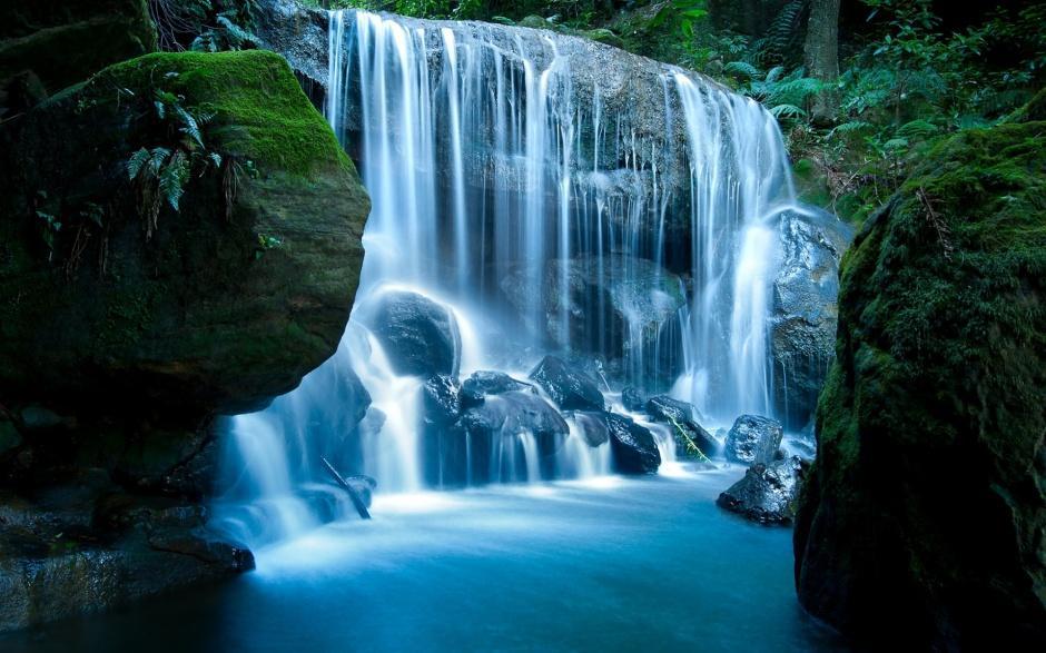 清新秀丽的山水风景图画