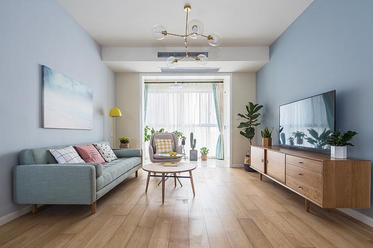90平北欧风格装修 这样的家太完美