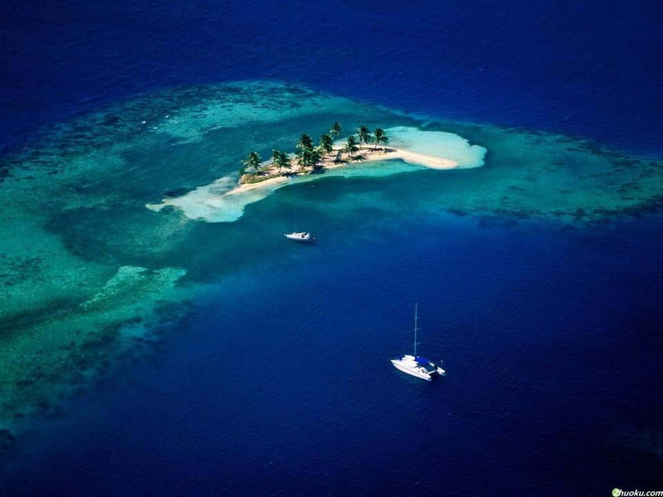 加勒比海风景壁纸_图片新闻_东方头条