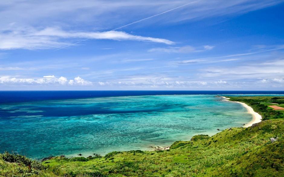 清爽意境唯美大海的风景图片