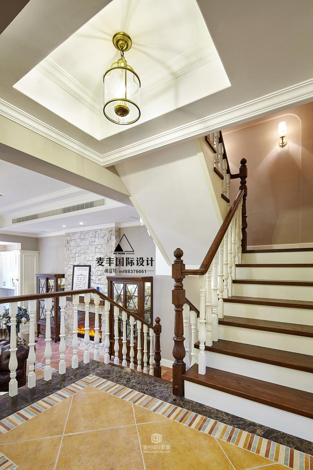 排屋楼梯装修效果图