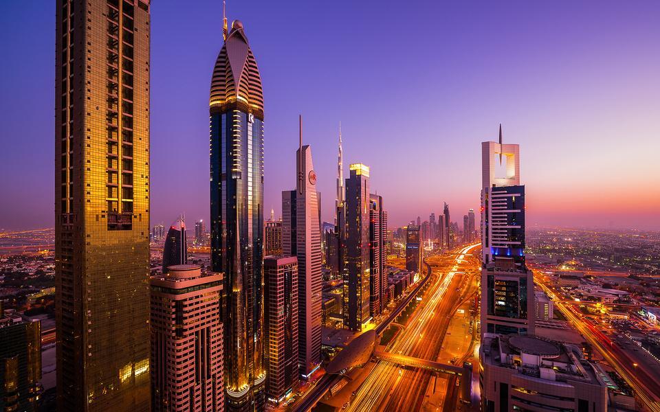 迪拜城市风景壁纸