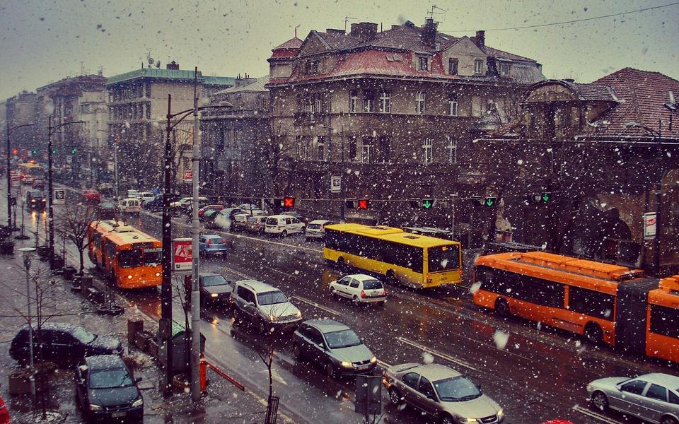 欧美城市风景壁纸