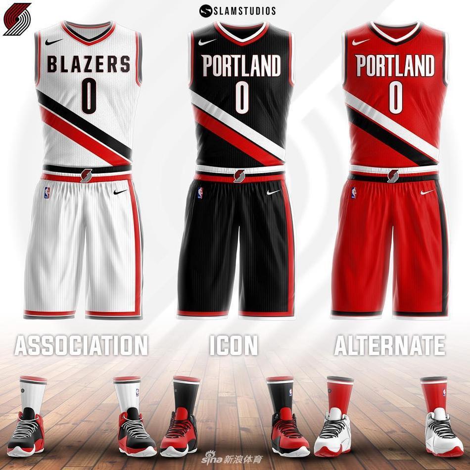 nba新赛季球衣设计概念展示图