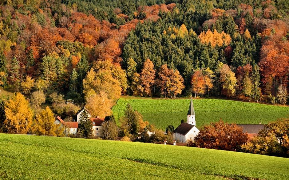 高清唯美秋季风景电脑桌面主题壁纸图片下载