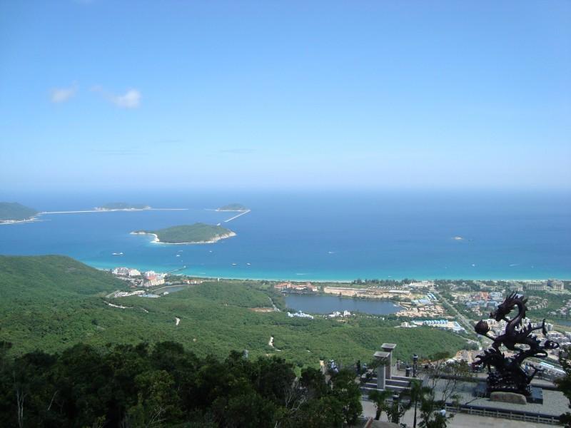 海南三亚亚龙湾风景图片