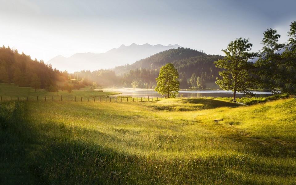 田园景色唯美风景壁纸