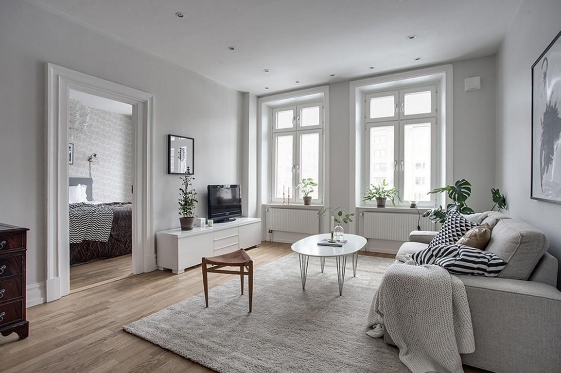 清新文艺 精致北欧风单身公寓图片