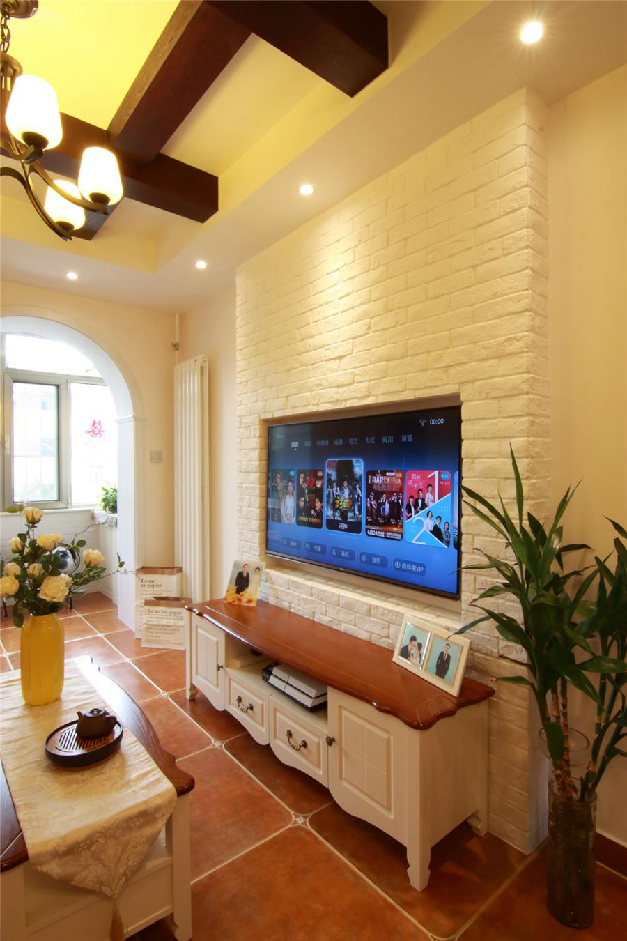 美式53平一室一厅二手房设计