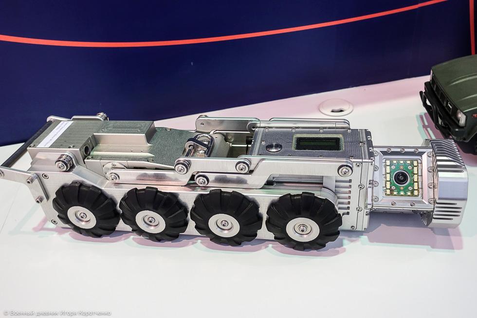 搜索機器人外形酷似導彈運輸車