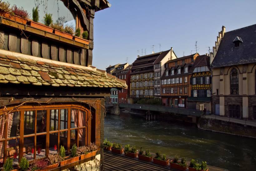 法国斯特拉斯堡风景图片