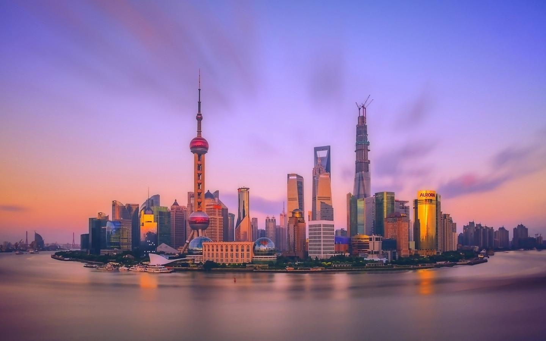 上海城市建筑高清风景桌面壁纸
