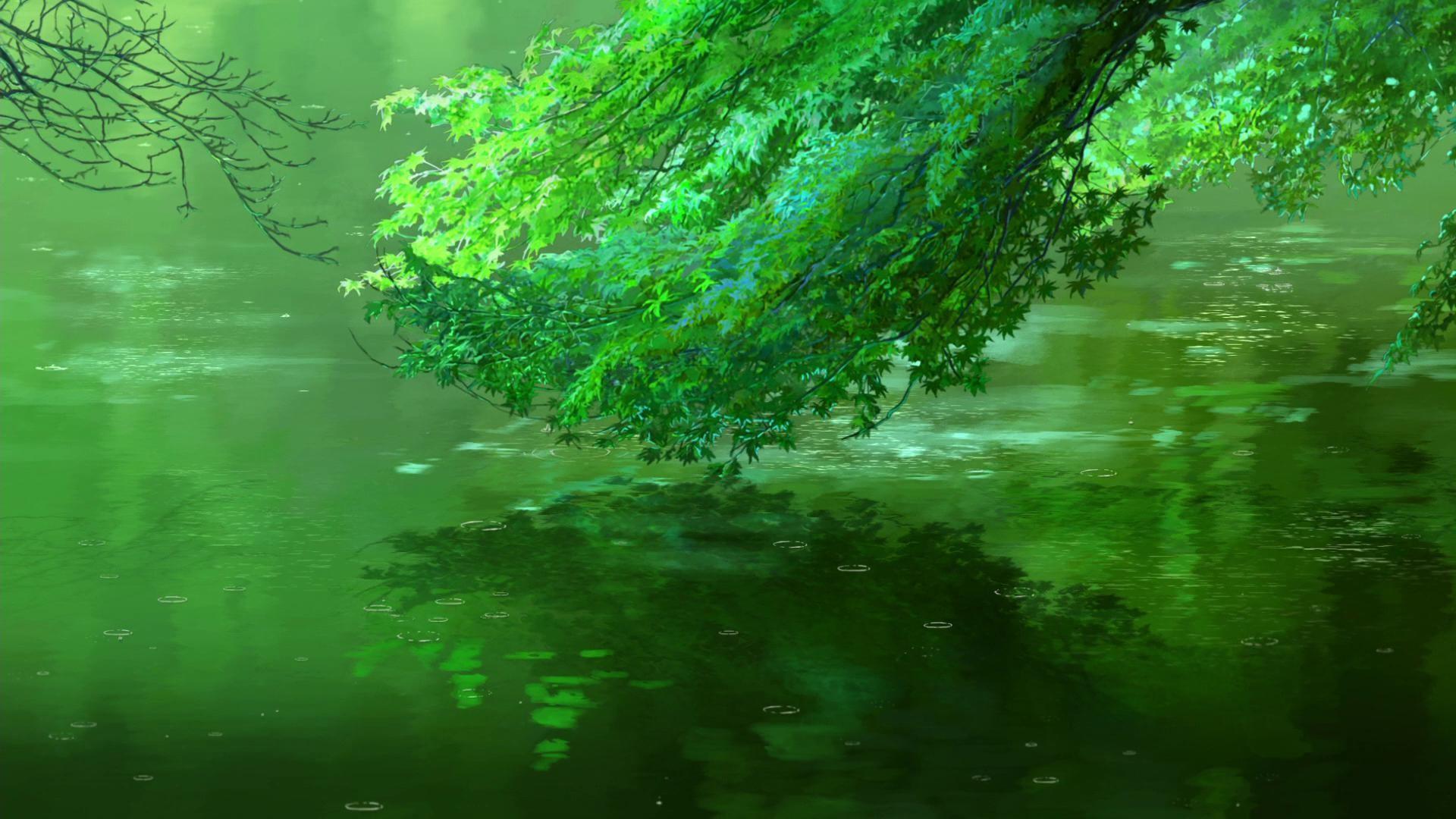 绿色自然风景图片高清宽屏桌面壁纸