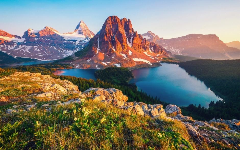 高清加拿大自然风光唯美风景win7电脑桌面壁纸