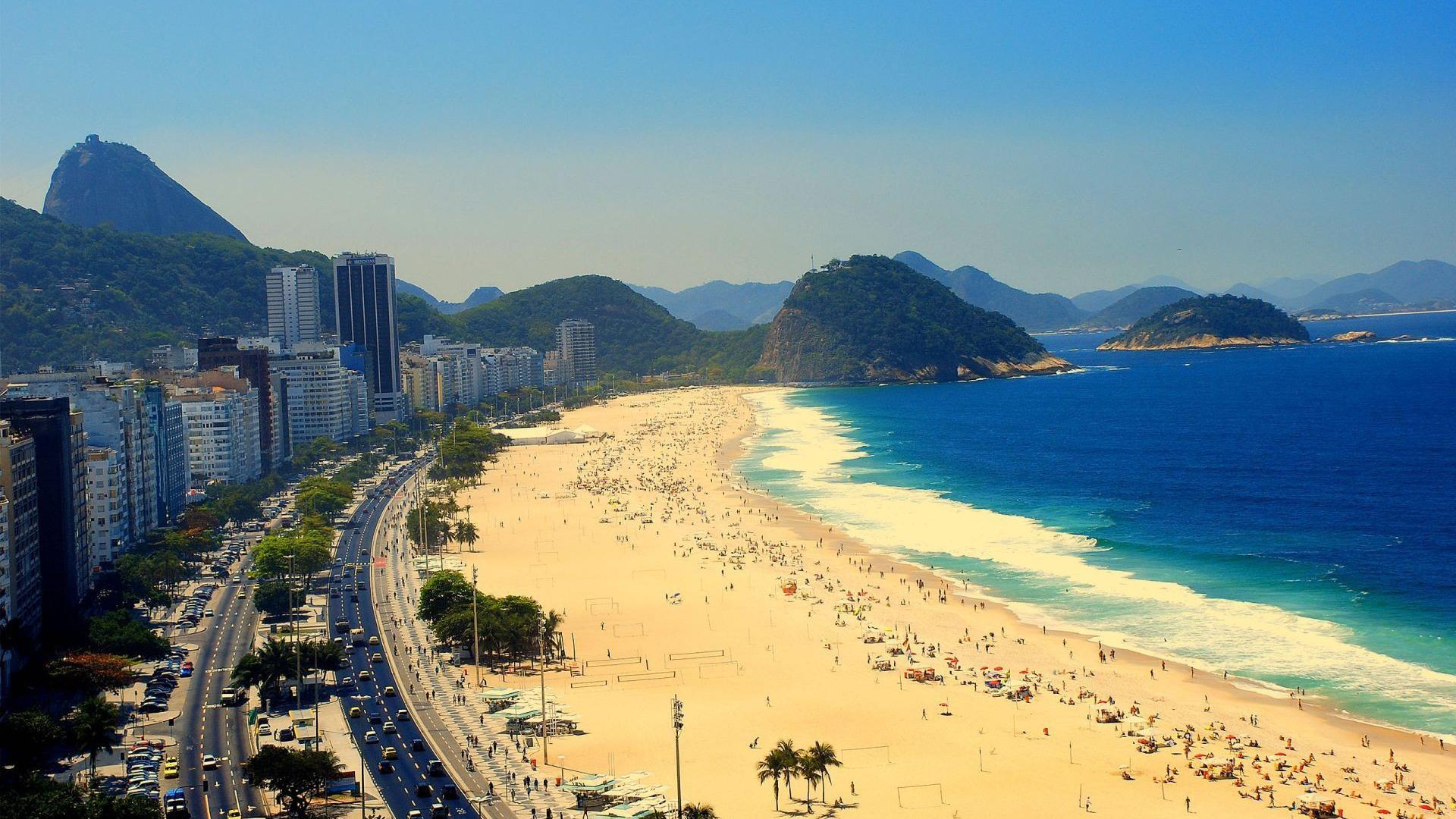 里约风景摄影电脑壁纸