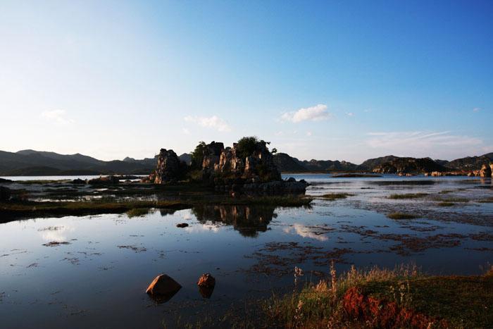 云南海峰湿地图片