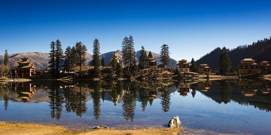 措卡湖秘境