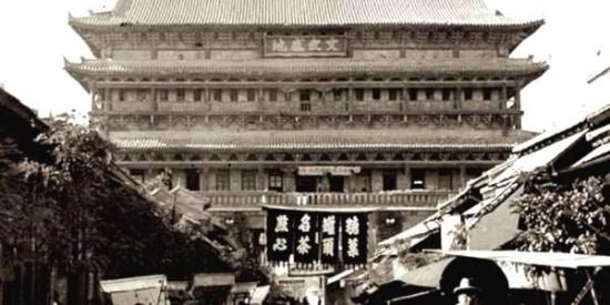 成为旅游景点前原汁原味的西安老城