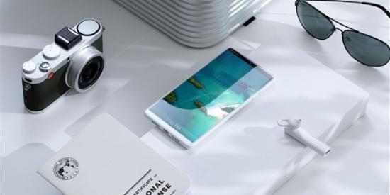 全世界最好看的白色手机?坚果R1官方图赏