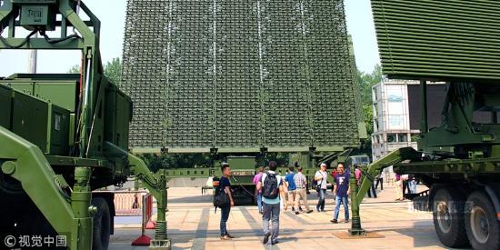 南京:国防重器尖端科技集中亮相世界雷达博览会