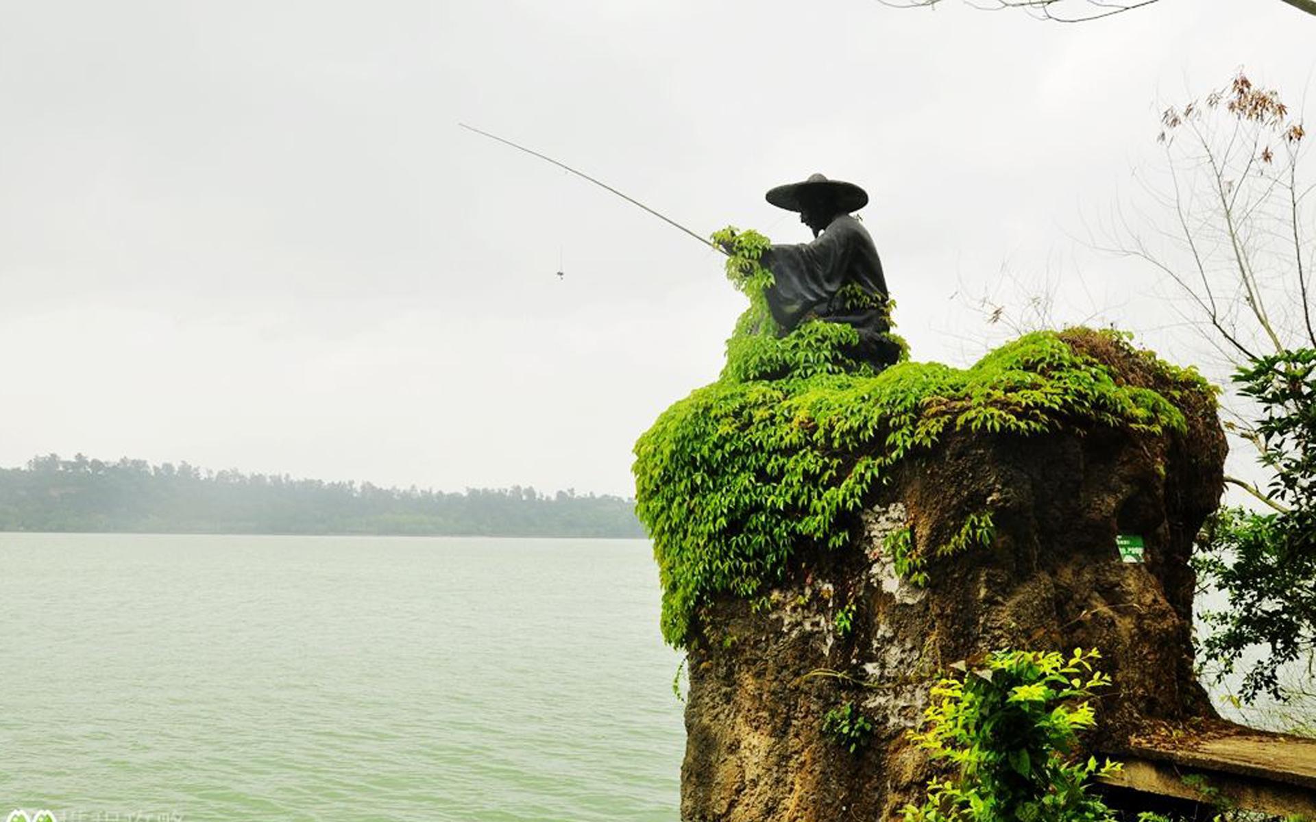 湛江湖光岩风景图片桌面壁纸