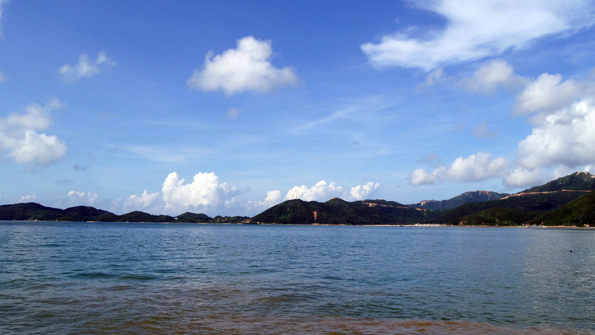 广东台山下川岛风景图片桌面壁纸