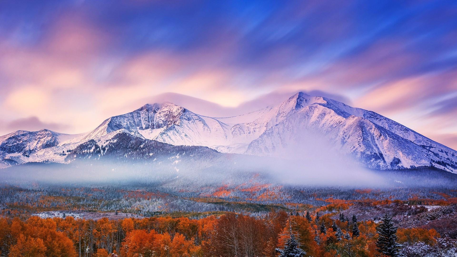 壯麗高山風景唯美高清桌面壁紙_圖片新聞_東方頭條