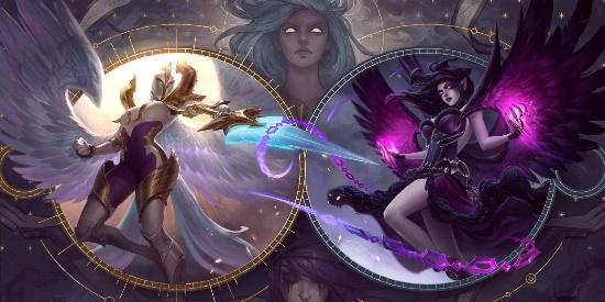 LOL英雄联盟正义天使凯尔新原画图片