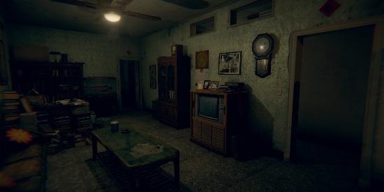 赤烛新作《还愿》恐怖游戏场景桌面壁纸