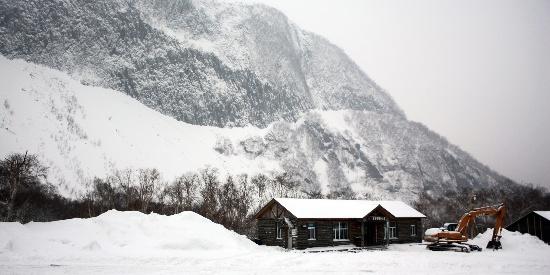 长白山唯美雪景图片桌面壁纸