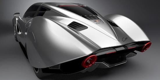 """西班牙""""劳斯莱斯""""公布130万英镑电动超跑概念设计"""