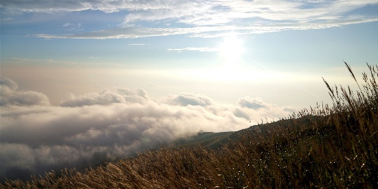 武功山云海风景唯美高清桌面壁纸