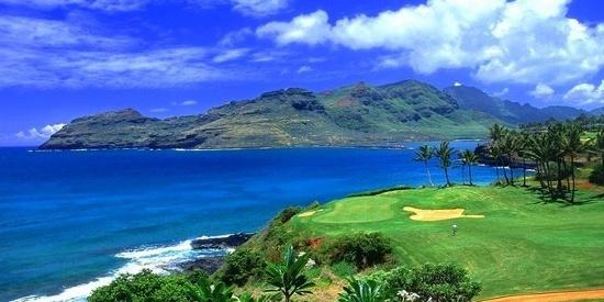 夏威夷唯美海边风景图片桌面壁纸