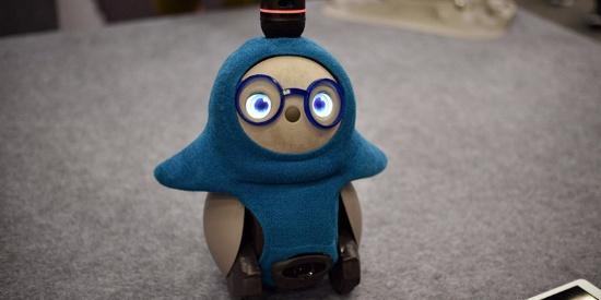 美国奥斯汀市举行机器人展 呆萌机器人可爱形象吸睛