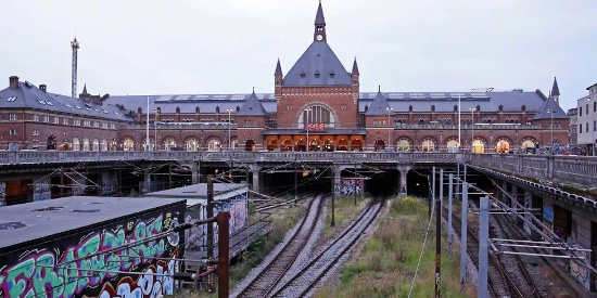 丹麦哥本哈根建筑风景图片壁纸