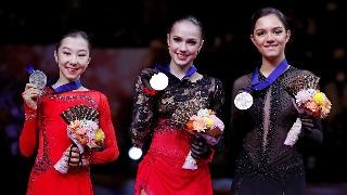 世锦赛女单扎吉托娃夺金成就大满贯
