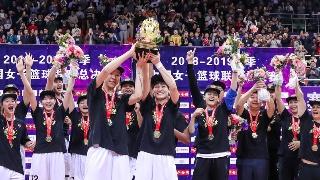 WCBA总决赛-广东女篮97-81八一女篮
