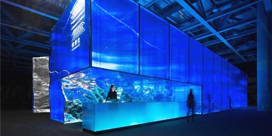 案例 | 积粟社-广州设计周展馆:自由自在的镜像空间