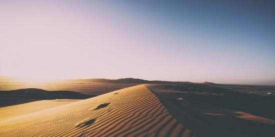 干旱的沙漠图片