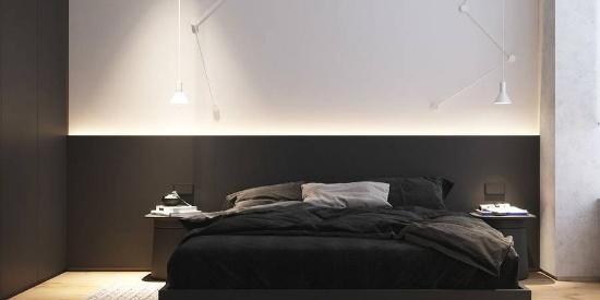 个性的床头背景墙设计,让卧室高级10倍!