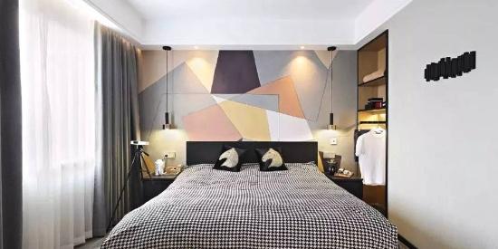 告别单调!一面墙刷多种颜色,给点颜色你瞧瞧!
