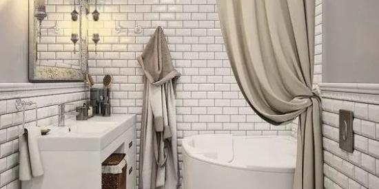 5㎡卫生间,如何实现泡澡+淋浴?太机智了……