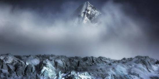 壮丽雪山风景唯美高清桌面壁纸