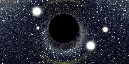 神秘的宇宙黑洞高清桌面壁纸