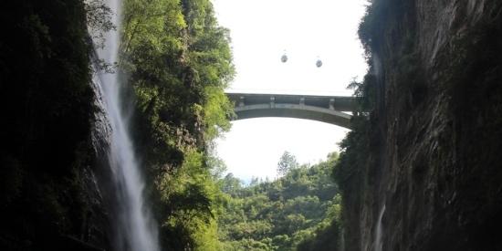 图集   恩施大峡谷:百座独峰矗立,十里深壑幽长