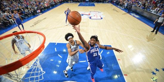 NBA季后赛首轮:76人-篮网G2