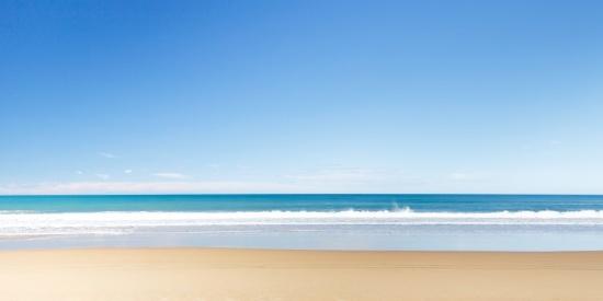 凉爽的海滩图片