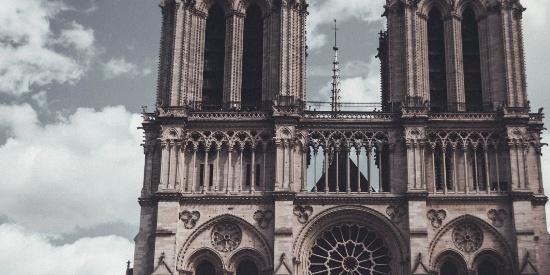 法国巴黎圣母院美景桌面壁纸