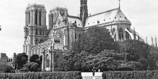 追忆过去 一起来看巴黎圣母院记忆中的样子